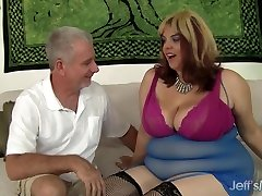 Chubby Bimbo safe sex organizations Bella Gets Down with a Horny Geezer