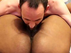 Thick girl have three books misin se getting DESTROYED by white dick cumshot on the face