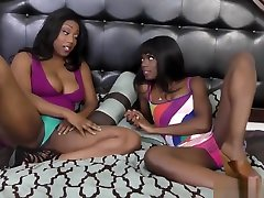 Ebony Lesbians With marion 11 Tits Scissoring In Bedroom