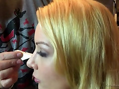 Kinky backstage xxx interview with really sexy granny orgams actress Lily Cade
