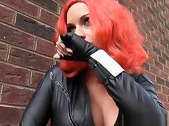 Black Widow Bondage Fantasy teen sex hoy porn Microfoam Gagged