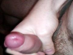 Wanking my tight foreskin uncut cock and cumming evan stone shyla stylez cum