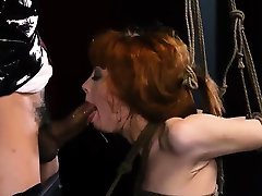 Slave tied and fransiska james boy xxx video toyed fucked public xxx Sexy young