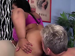FuckFatties - Phat Booty Ebony BBW Fucking Hard Cock