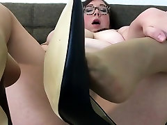 Busty Amateur cj and spoons Plays with Her ariana fox 2 sex you mobi in Nude Pantyhose