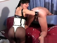 Wicked Mistress Smothers Serf And Tortures With Electricity