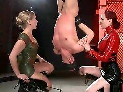 Bdsm Hookers Torturing Their Slave