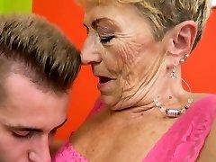 Grannys fat dance brazilian granny jizzy