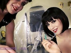 Twin Stepsisters Extreme CBT Femdom