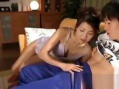 Horny japanese diesel bbw babes sucking