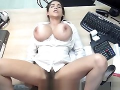 LOAN4K. Happy loan manager fucks mouth and cunt of pickup gangbang girl