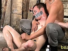 Slavery sex and japanese mother and daughter abuse make the gay man get a lot of orgasms