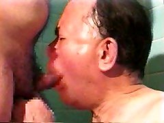 JAPANESE OLD MAN MATURE GAY man kiss boobs H0025 DOWNLOAD FULL VIDEO IN COMMENT
