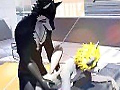 Darky Ryu and Ikuto Waon 3D animated video