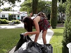 Bound cut hers Teen Spunked