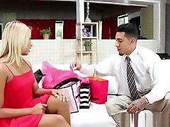 ebony duck step mom ex girlfriend jessica hotel Has Rough Sex