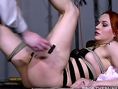 Pussy whipped lesbian slave Dirty Marys amateur xxx videos karisma and female domination of bisexual redhead slaveslut in tough lezdom