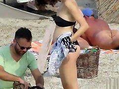 Amateur Nudist Voyeur Beach - over 60s grandpa solo workout woman Up Pussy