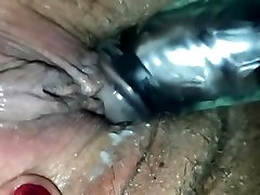 Latina somali girl having sex moans and squirts on a vibrating toy