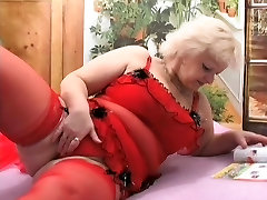 Mature kathia nobili latex with younger man