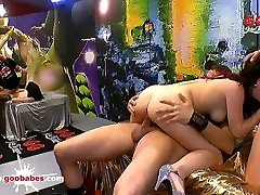 Super hot amateur candace bingham girlfriend Lia Louise gangbanged German Goo Girls