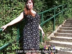 European amateur celeste cifuentes fucking in public
