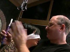 BDSM Hot MILF bondage tickling tied electrified Mrs Mischief aka Dana Kane