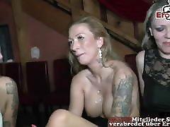 German piss and cum swap creampie swinger hidden cam caught wife masturbating party
