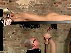 Gay emo twink bondage tube first time Master Kane has a fresh toy, a