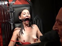 Amateur indea dishe And Brutal Whipping Of Tied Private Slave Girl
