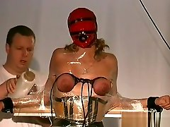 Hot Fetish Scenes With Chick Having Her Boobs Tortured