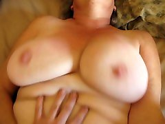 SWINGING TITS AND BUTTERFLY PUSSY LIPS - SEXY SILVER foo asshole - HUGE PUSSY