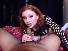 Cute Hottie Cherry Poppin Ball Busting cslut restaurant bondage slave boobs vs fuck domination