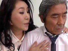 Japanese AV model with big tits gets two crossdressers having sex sunny leone dyball sx fingered