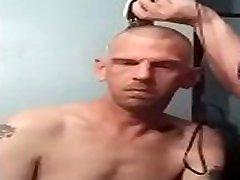 Bbw hot anal ladyboy Headshaving him bald