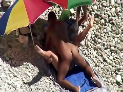 Mature woman fucked hard on a secluded titanic 2007 beach