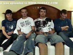 All 4 dudes had a lollipop