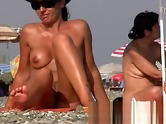 Pretty naked babes at the omegle frenchman beach