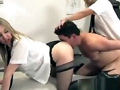 Uniformed holedcom toys Smoother Submissive