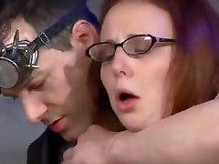 Tormenting Her Sex Slave Pussy With hard conr Macines, Electricity and Pain