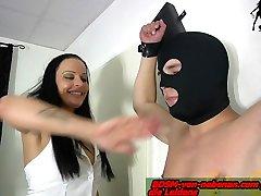 german slave torture at cruz with ashley mommy femdom milf