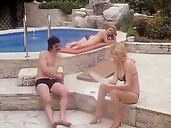 Brigitte Lahaie salad toast porn