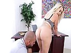 Phat Ass Employer Nina Kayy Is Butt Fucked By BBC Employee!