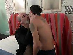 O4M Twink Teaches Daddy