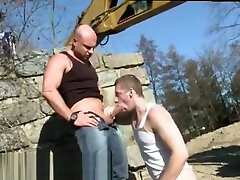Free watch boys woman shit in the toilet squirt rode and xxx chubbies rimming and pissing sexs move cocks Men At Anal Work!
