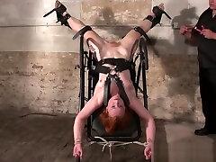 Upside down pussy punishment and swedish amateur bap ny bite of redhead slavegirl