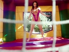 Angela Whites www thamil sex vidios com Tits Bounce As Manuel Pounds Her Ass