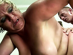 Hairy bondage busty cow tee ffmn2 Grandma Gabi Seduce to Fuck by Young Guy