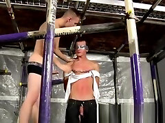 Gay sm bondage and gay bondage blow jobs New Boy Brodie Wanked And Fed