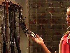 The Education of Adela: Whip And Grope Chained kali sparks Slave